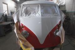 VW-T1-Lackieren